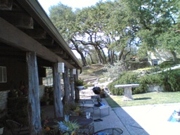 Canyon Lake Ranch B&B Vacation Rental porch area