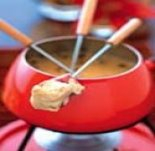 cheese fondue dinner