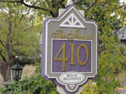 inn at 410 sign