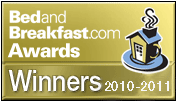 Bedandbreakfast.com Awards Winners 2010-2011