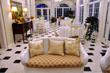 wedding reception in dining room