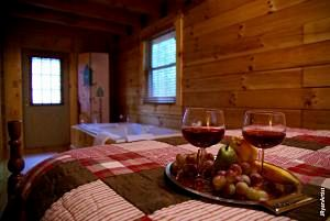 couples private cabin