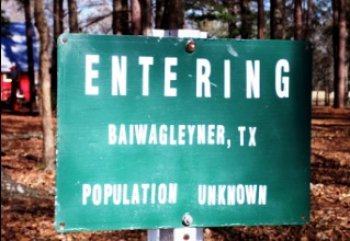 entering baiwagleyner, tx