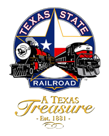 Texas state Rail Road logo