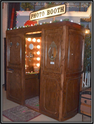 Danville Bed and Breakfast Wedding and Events Photo Booth