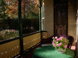 Classic Rosewood Inn Porch