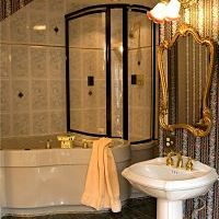 victorian bath and shower