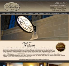 Bleckley Inn Testimonial