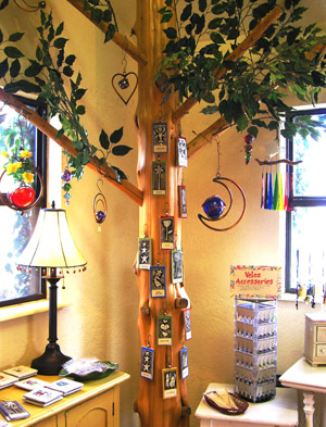 tree crafts and souvenirs