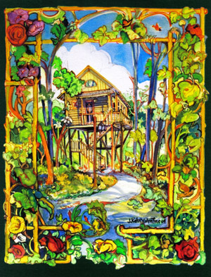 treehouse art