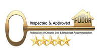FOBBA approved Bed and Breakfast logo