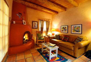 Taos suite at Hacienda del Sol Bed & Breakfast in Taos NM
