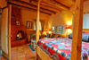 Taos Suite has a queen bed as well as a sofa in front of the gas fireplace to enjoy.