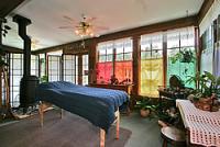 sunroom of Historic Homestead Bed and Breakfast