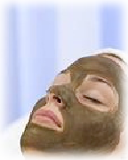 spa mud face mask facial woman