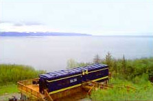 Alaska Adventure Cabins Moose Caboose Rail Car