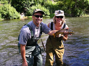 Fly Fishing Best At Johnshon Mill On Provo River