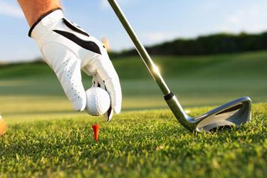golf ball, golf club, golf tee