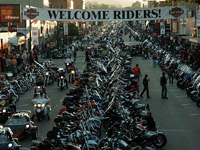 Sturgis Motorcycle Bike Rally