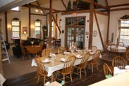 The Barn Inn b&b dining room