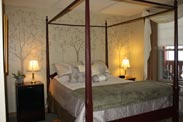 Guest lodging at The Barn Inn Bed and Breakfast in Millersburg Ohio