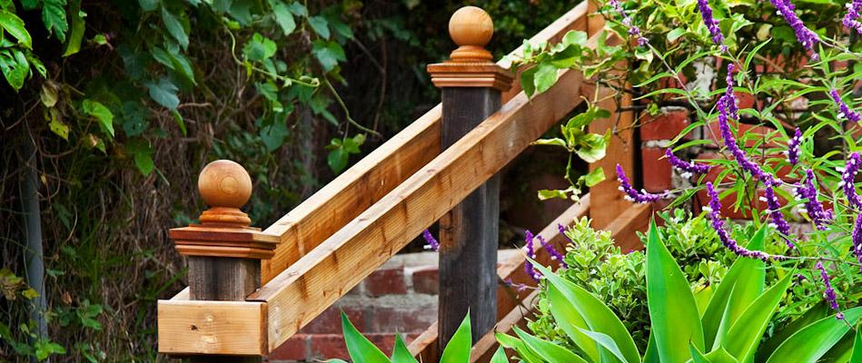 Manzanita Cottages Stairway