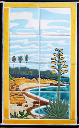 The Yellow Cottage Tile