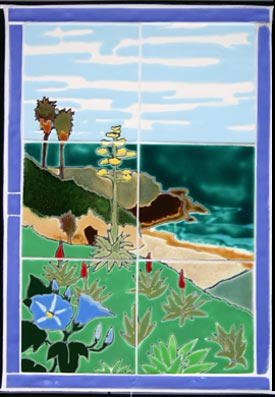 Manzanita Blue Cottage Tile