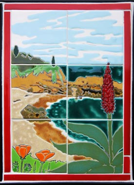 Manzanita Red Cottage Tile