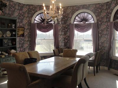 Dining room at Rabbit Creek B&B