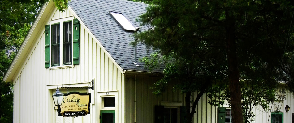 the carriage house exterior