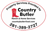 Country Butler Ranch and Home Property Services logo