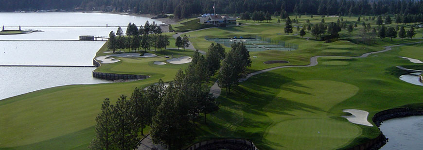 Golf Course in Coeur d'Alene Idaho