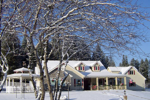 American Country Bed & Breakfast in the winter
