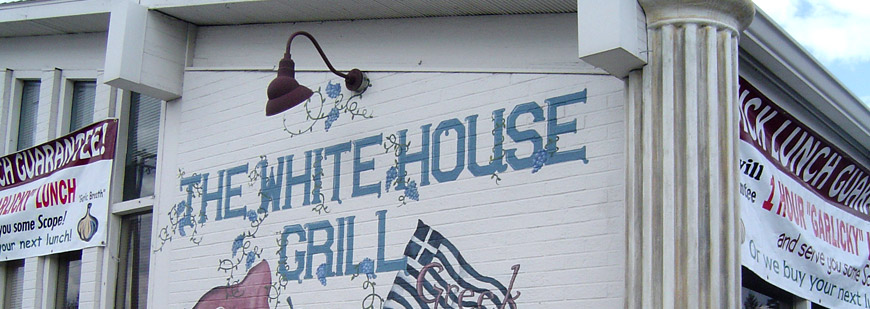 The White House Grill restaurant in Coeur d'Alene Idaho