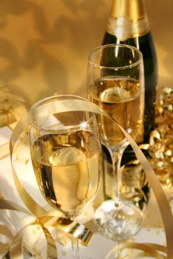 fancy Champagne for romance or anniversary package at American Country Bed & Breakfast