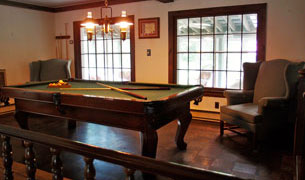 Admiral Peary Billiards Table
