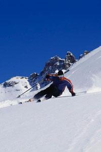 downhill skiing