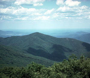 Blue Ridge Mountains of North Carolina