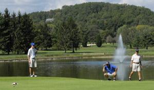 Golfing in Hendersonville, NC