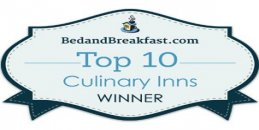 Top Ten Cullinary Inns Winner Badge
