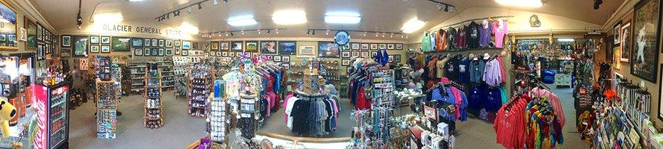 Glacier General Store interior