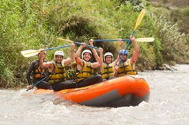 Rafting in the Smoky Mountains of Tennessee