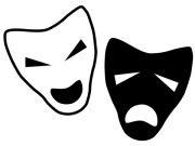 tragedy comedy masks