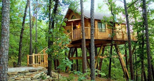 Eureka Springs Arkansas Lodging Treehouse Cottages