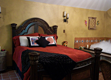 room at Windsong Hollow Ranch in Liverpool, Texas