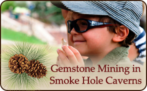 Gemstone Mining at Smoke Hole Resort