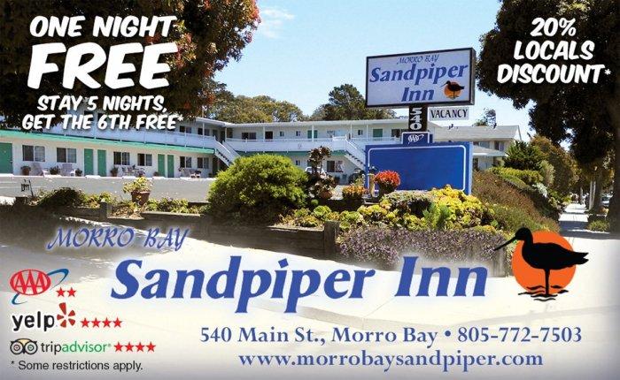 Morro Bay Lodging Specials Amp Deals Morro Bay Sandpiper Inn