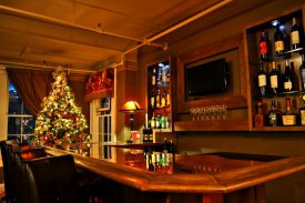 the bar at christmas