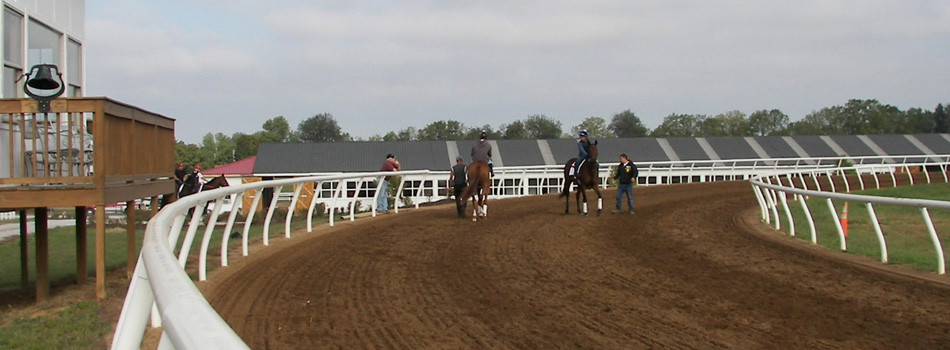 Mercury Equine Complete horse training center race track